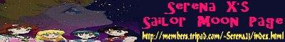 Serena X's Sailor Moon Page